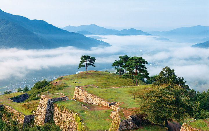 Takeda Castle Ruins