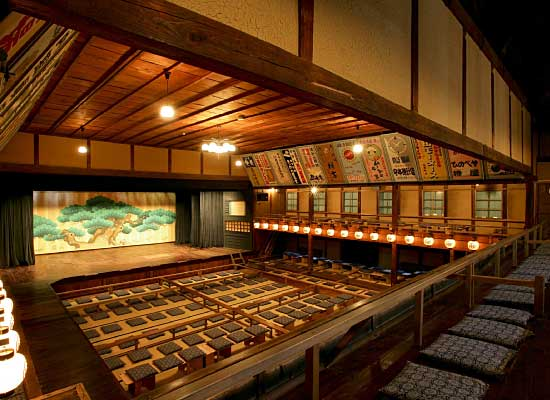 Kabuki theatre Eirakukan
