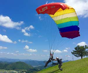 Or spend the day paragliding