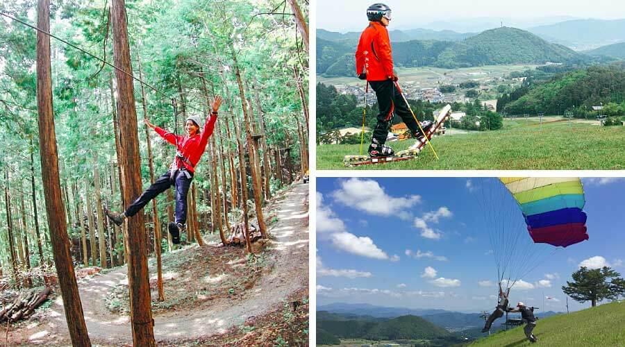 Outdoor activities in Kannabe