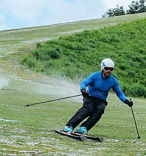 Plastic Skiing