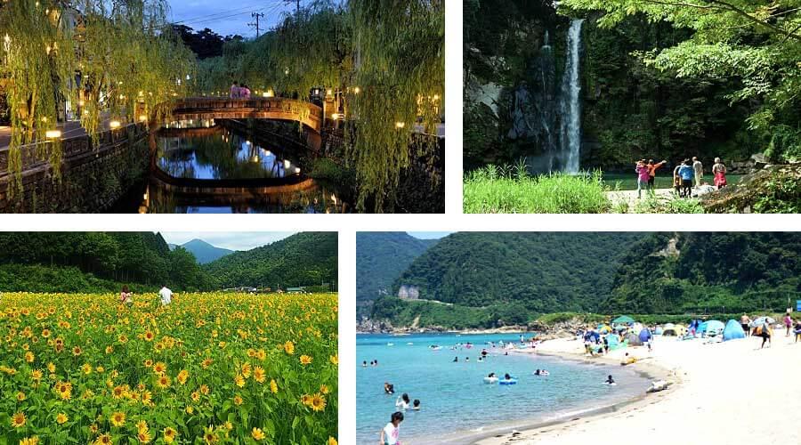 Summer in kinosaki kannabe tanto takeno