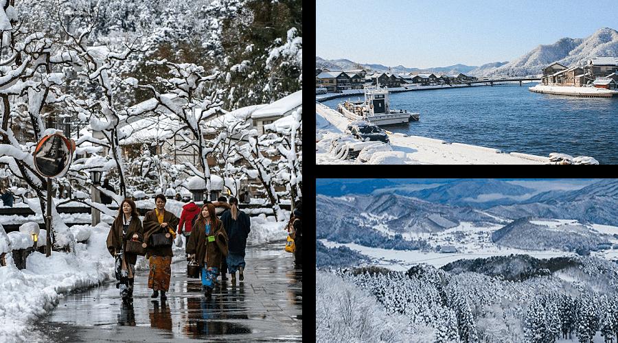 Winter in Kinosaki Onsen Takeno Kannabe
