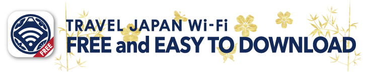 TRAVEL JAPAN Wi-Fi FREE and EASY TO DOWNLOAD