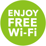 ENJOY FREE Wi-Fi