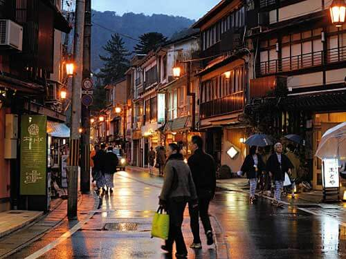 Kinosaki Onsen traditional architecture