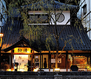Yanagi-yu, one of the 7 onsen