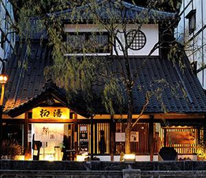 Yanagi-yu, one of the 7 onsen