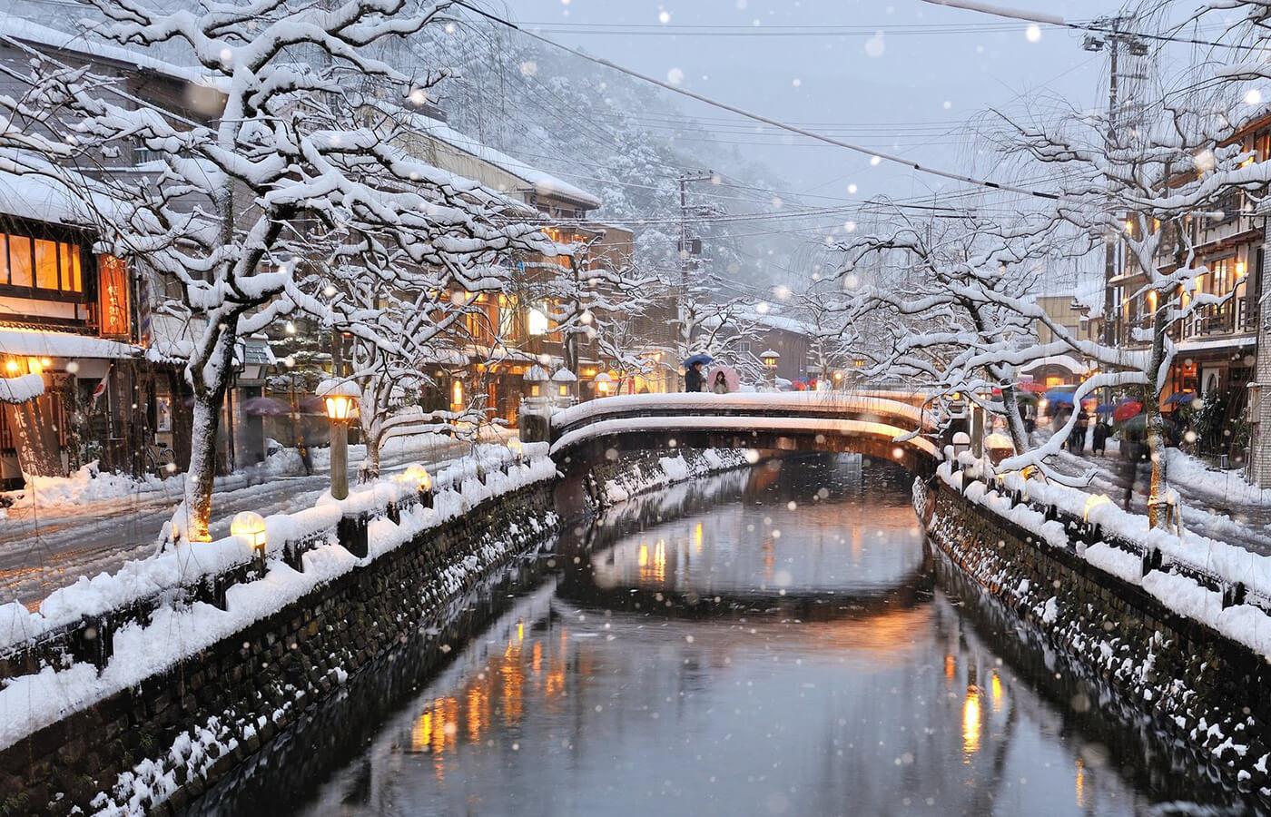 Travel to Kinosaki Onsen