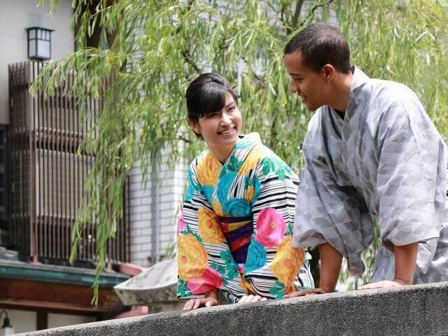 Yukata Rental in Kinosaki Onsen