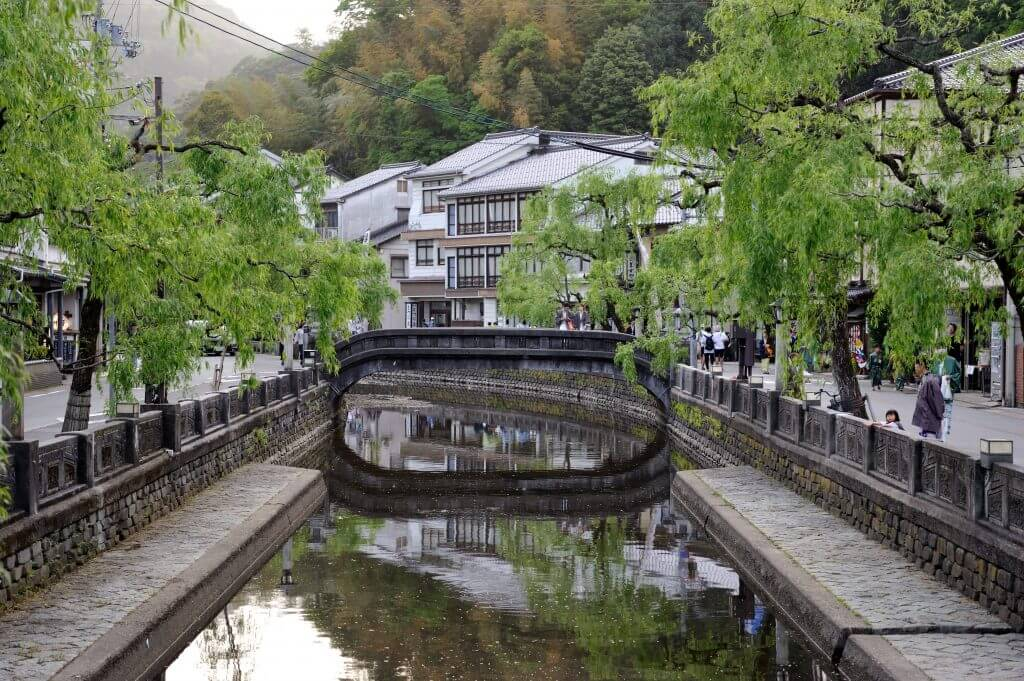 Spend the day in Kinosaki Onsen