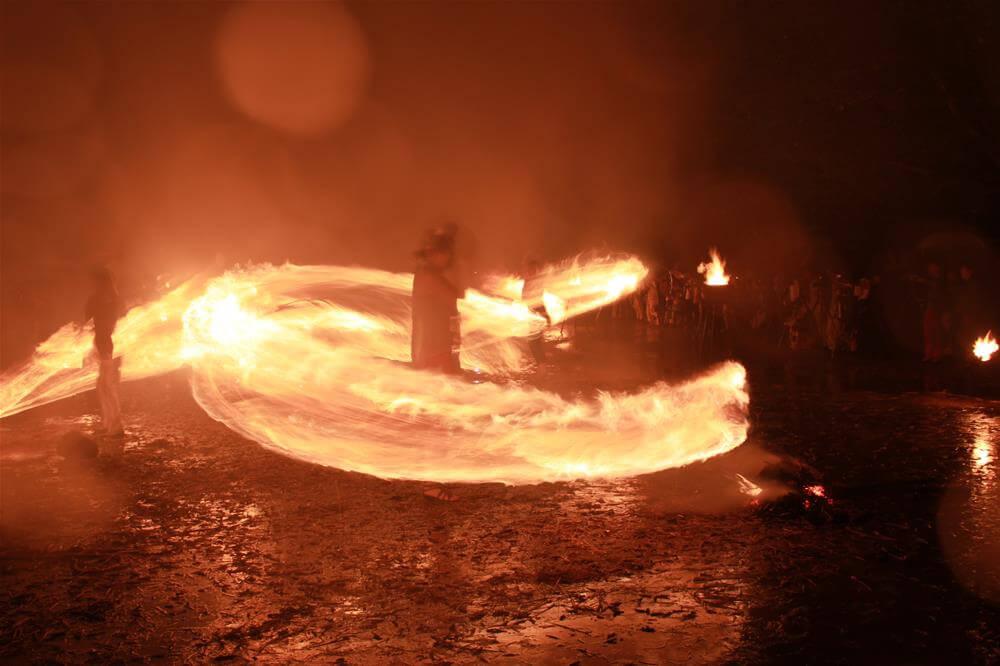 Izushi Atago Fire Festival