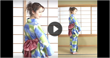 video on how to put on a yukata