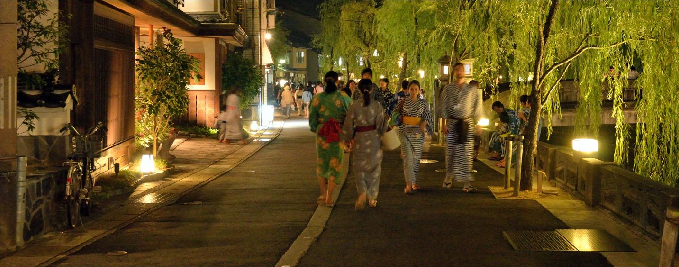 Kinosaki Onsen-Hopping in Yukata