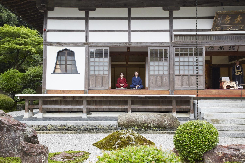Zen Meditation, Buddhist Sermon, & Matcha at Gokurakuji