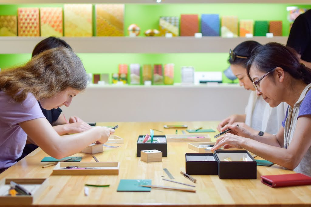 Straw Craft Activity and Craftsman Workshop Tour
