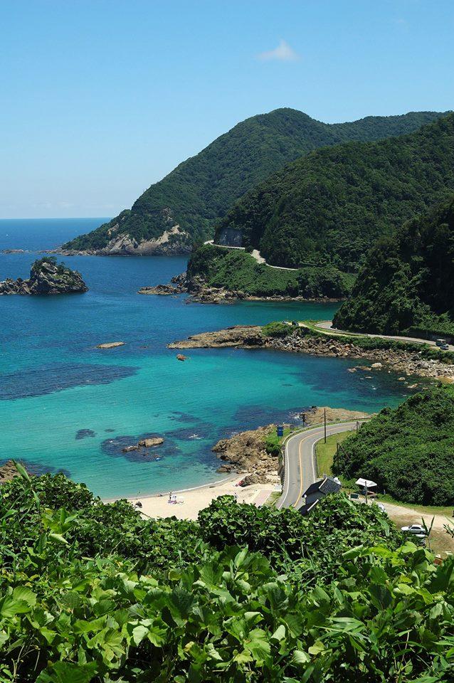 Coastline Along the Sea of Japan