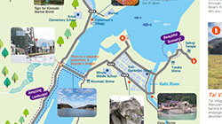 Kinosaki Cycling Course Map