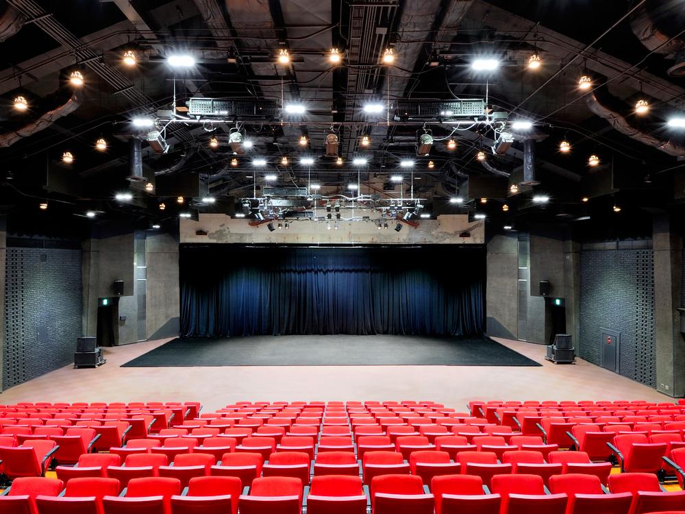 The empty theater of Kinosaki Art Center